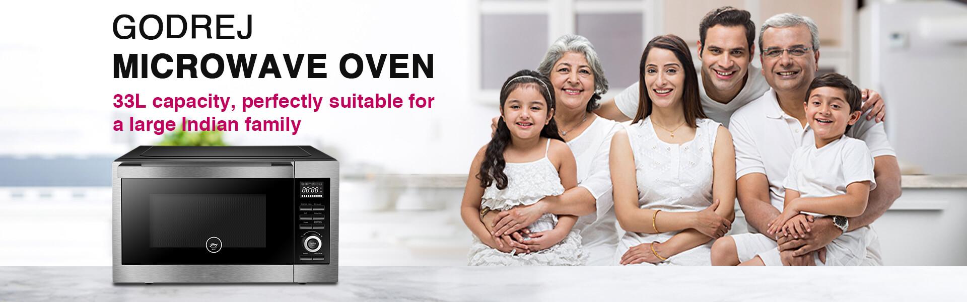 Godrej Microwave Oven 33L Capacity