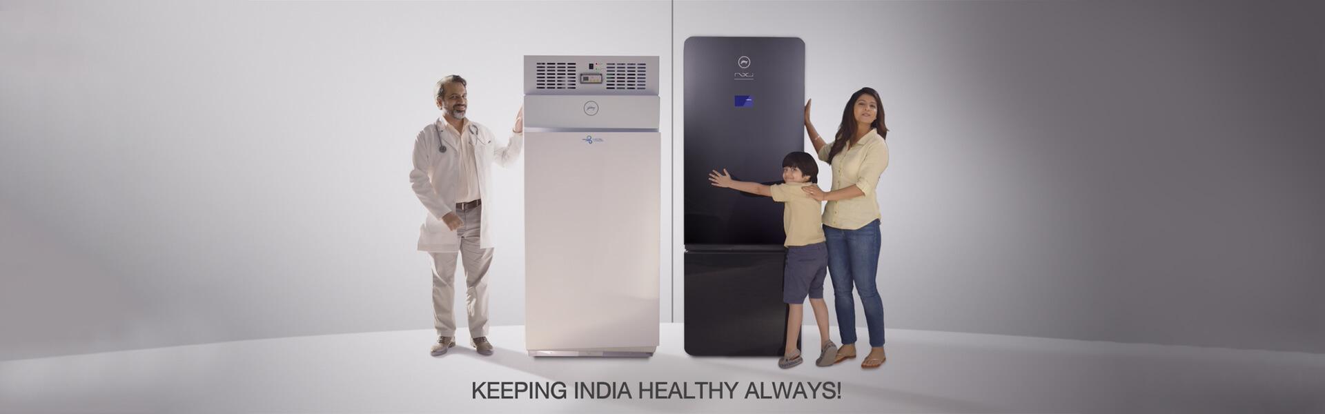 Keeping India Healthy Always