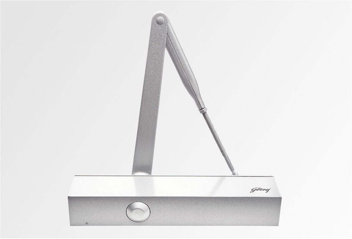 Rectangular Door Closer