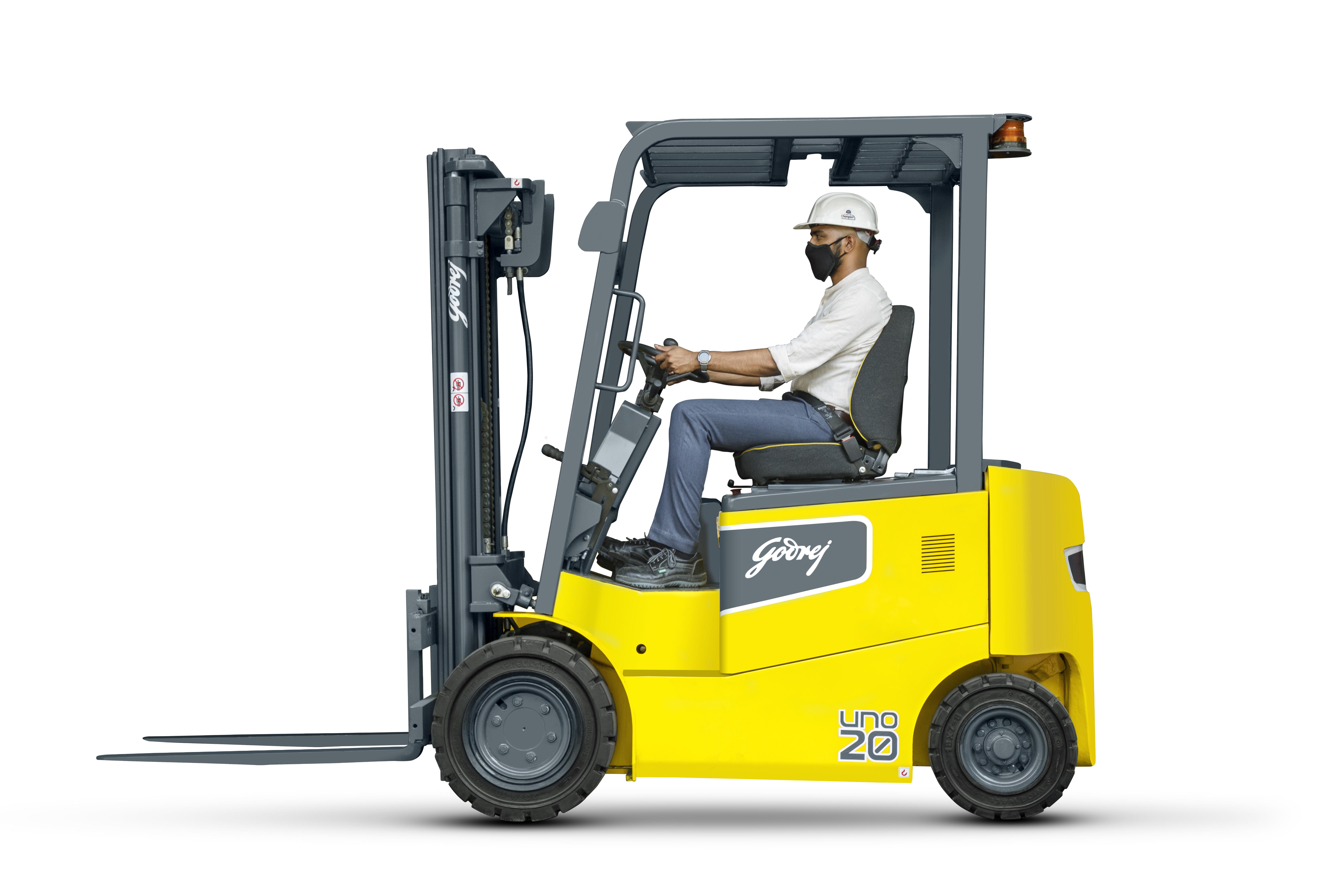 godrej UNO Forklift