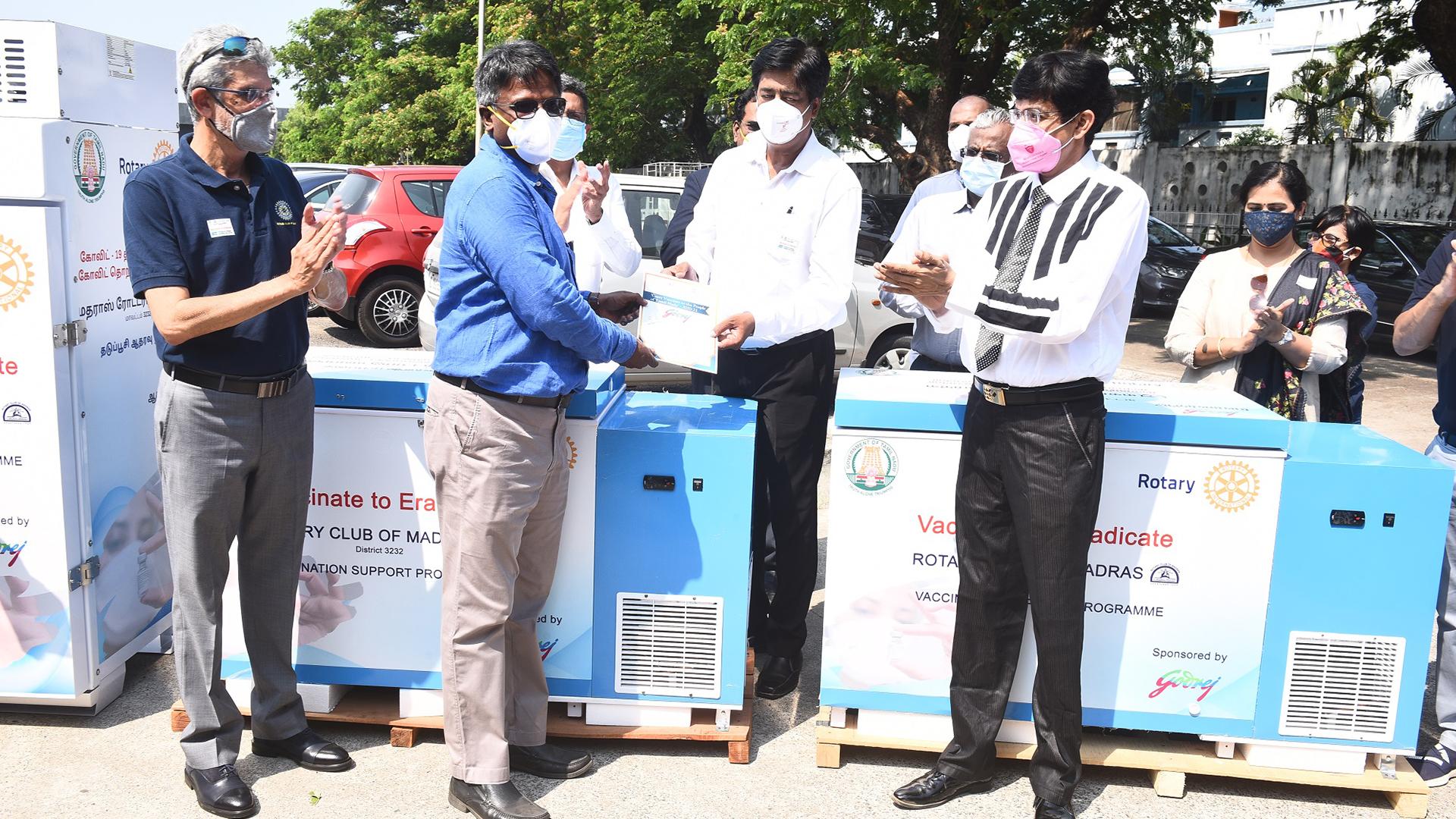 Godrej donates advanced medical refrigerators