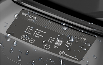 100% Water Resistant Digital Panel