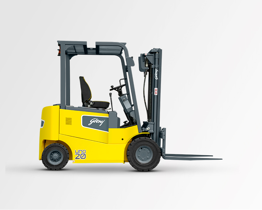 1.5 to 2 tonne UNO series Godrej Electric Forklift 3