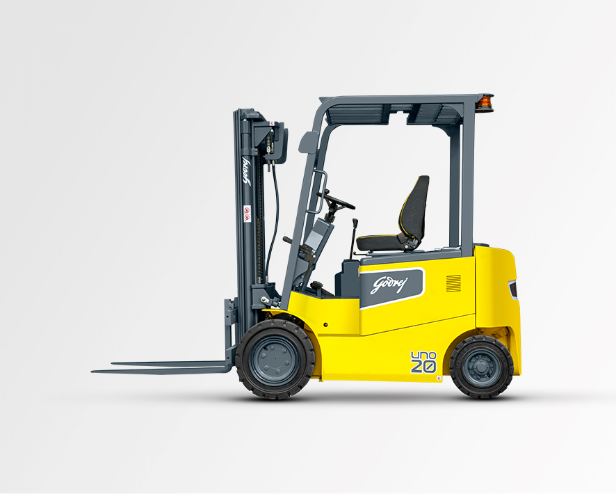 1.5 to 2 tonne UNO series Godrej Electric Forklift 2
