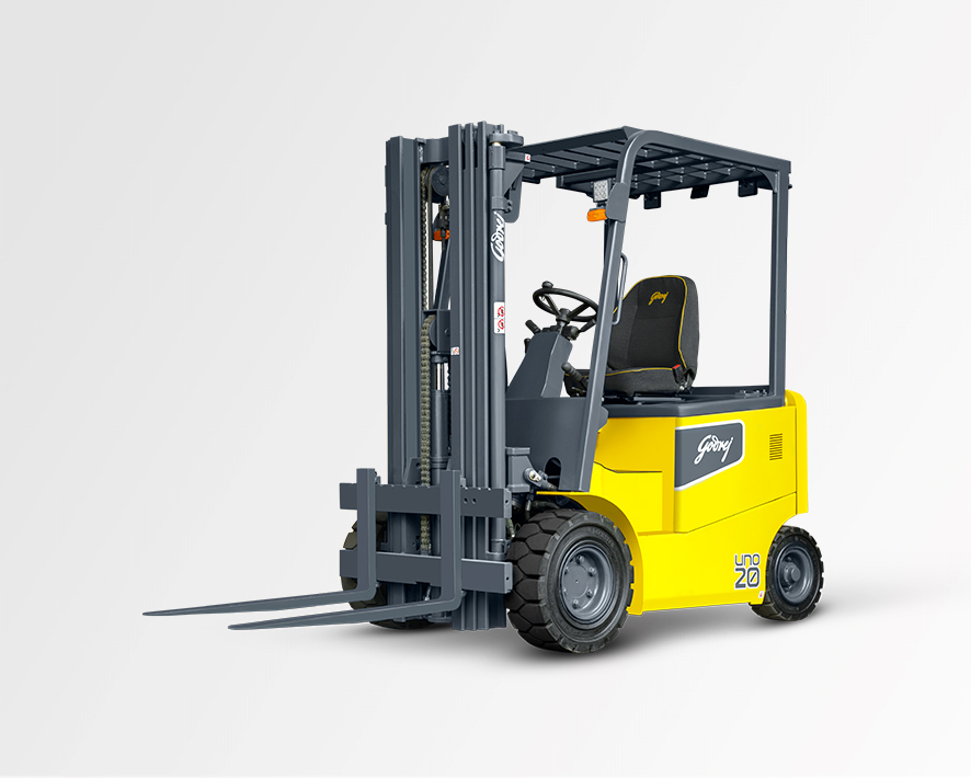 1.5 to 2 tonne UNO series Godrej Electric Forklift
