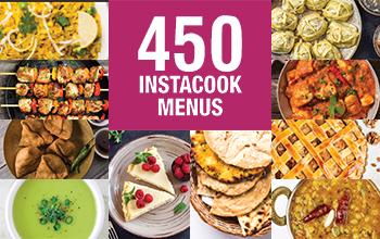 450 Instacook menus