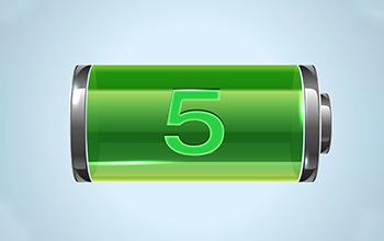 5 Power Levels