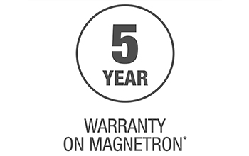5 Year Warranty on Magnetron