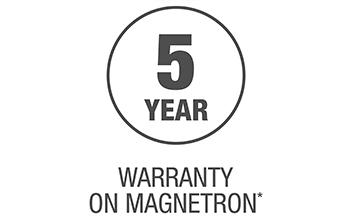 5 Year Magnetron Warranty