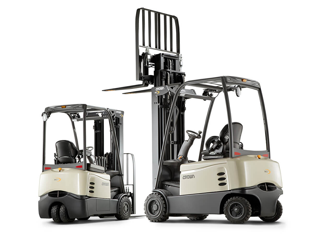 1-to-2-tonn-3-and-4-wheel-Crown-Electric-forklift