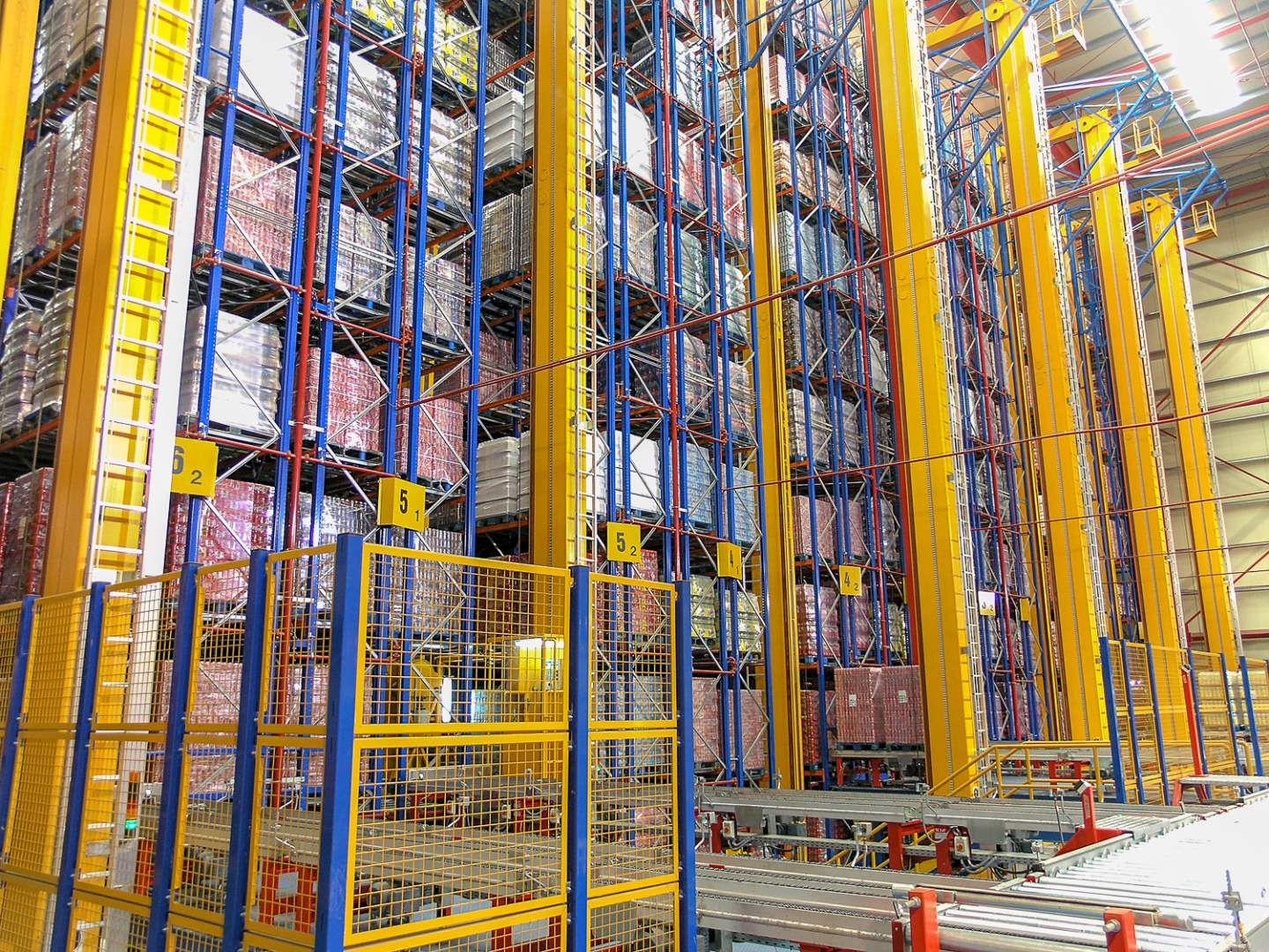Automated storage & retrieval system (ASRS)