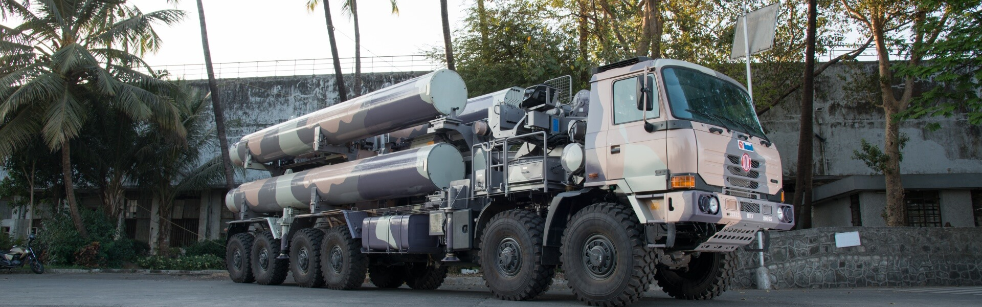 Mobile Replenishment Vehicle - BrahMos