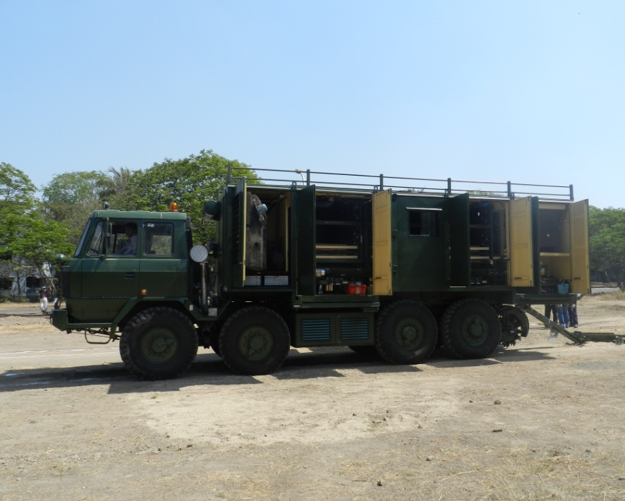 Mine Munition Burier - RDE(E),DRDO Pune