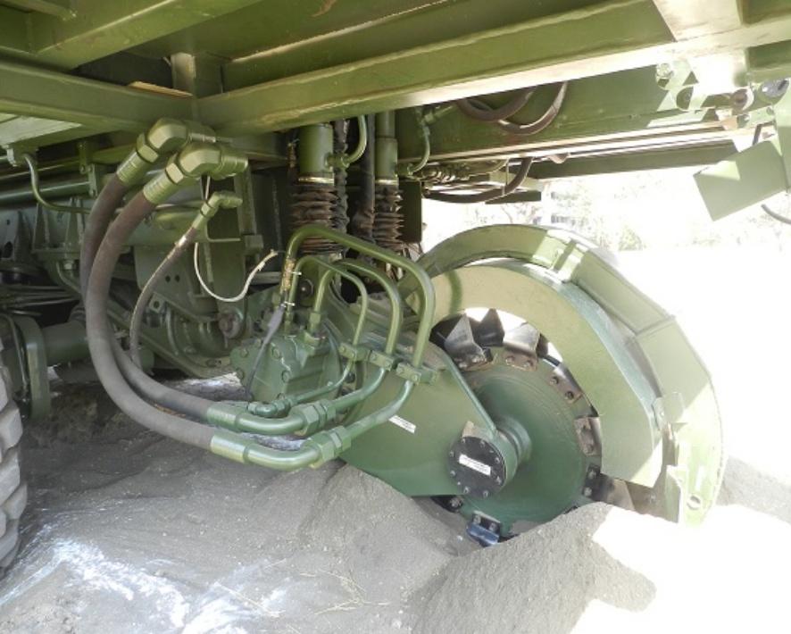 Mine Munition Burier - RDE(E),DRDO Pune-1