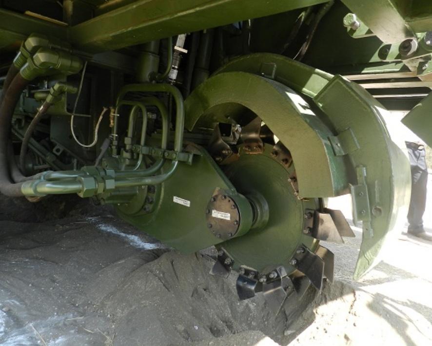 Mine Munition Burier - RDE(E),DRDO Pune-2