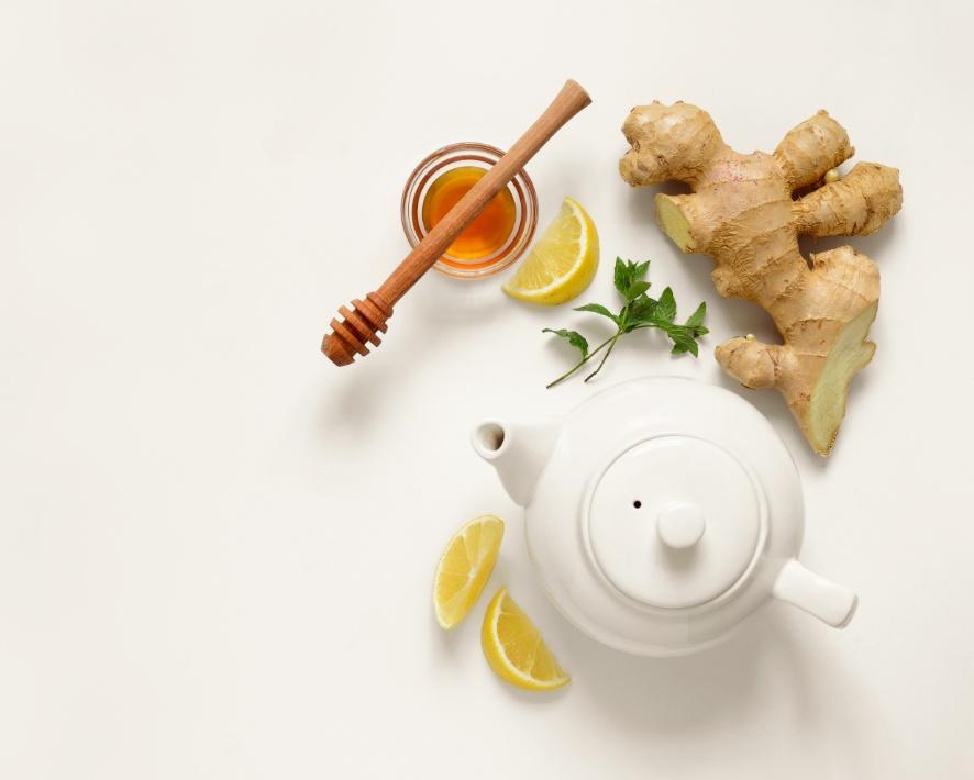 Ginger-teabags