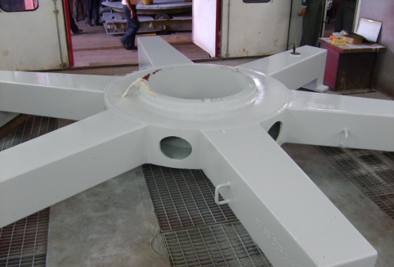 Wind Turbine Parts for Wind World India Ltd