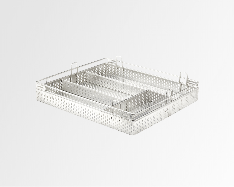 Perforated Cutlery Basket SS