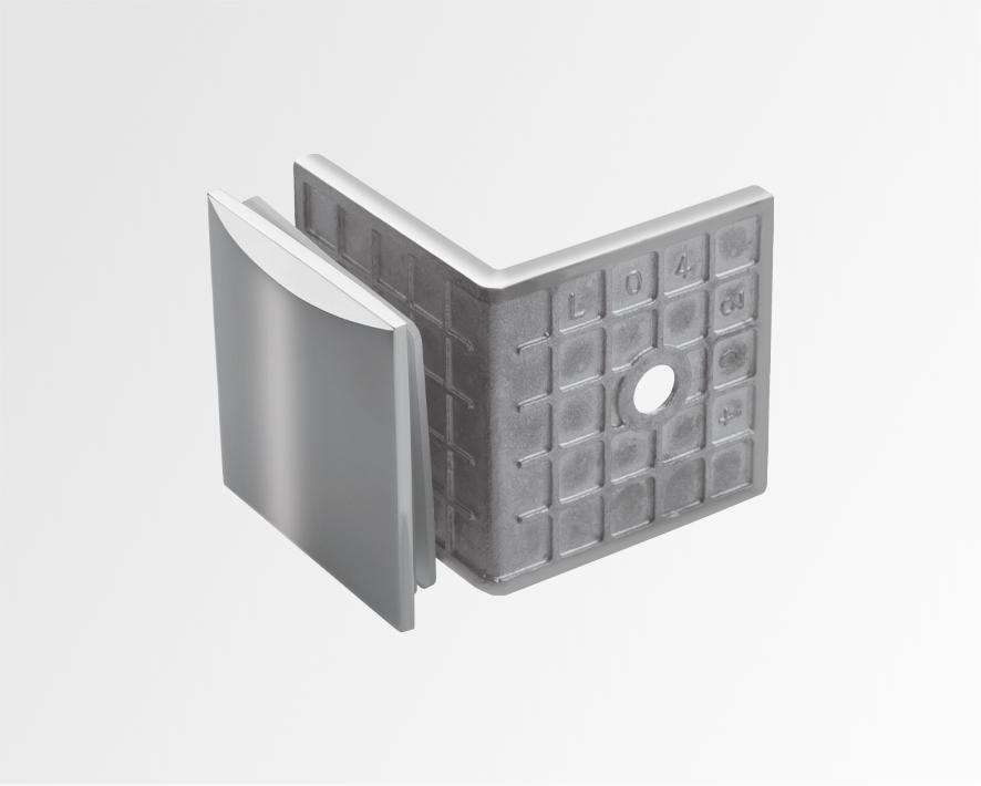 Kurve-wall-to-glass-clip-90-deg