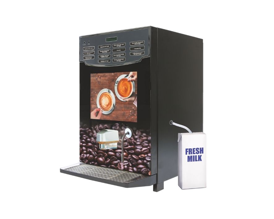 Minifresh Espresso or Combo with Fresh Milk