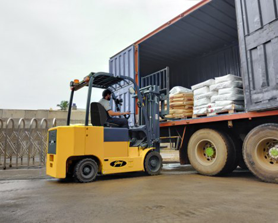 Electric Multidirectional Counterbalance Forklift Trucks