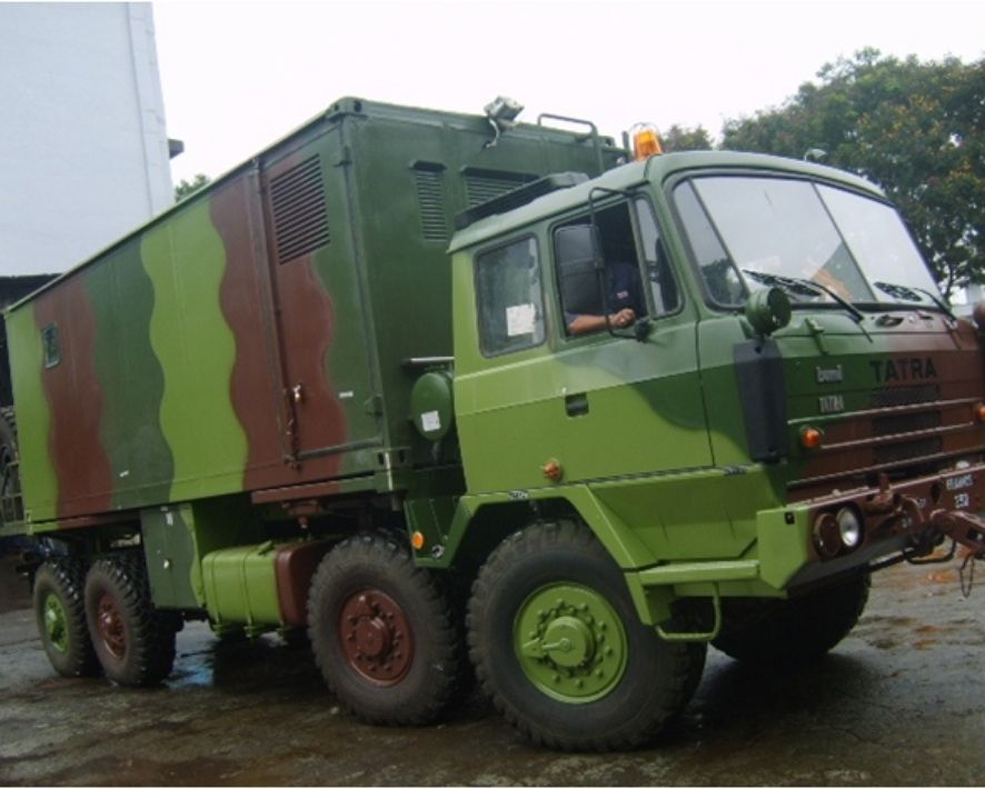 Workshop vehicle - BrahMos