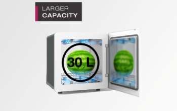 Larger Capacity