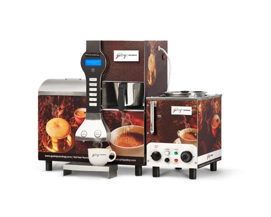 Freshly Brewed Tea & Coffee Vending Machine (IB)