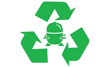 Energy Efficient Inverter Compressor