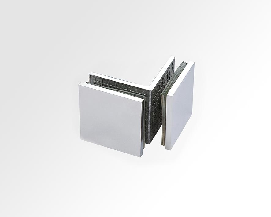Glass Clip - Glass to Glass 90 deg