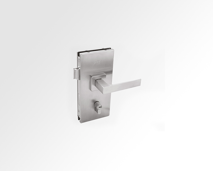 Glass Door Lock-01 (Latch and D/b) Wall to Glass