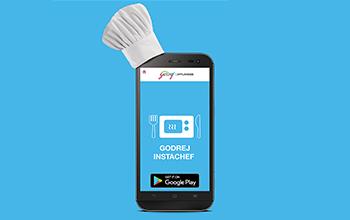 Godrej Instachef App 24x7 cooking companion
