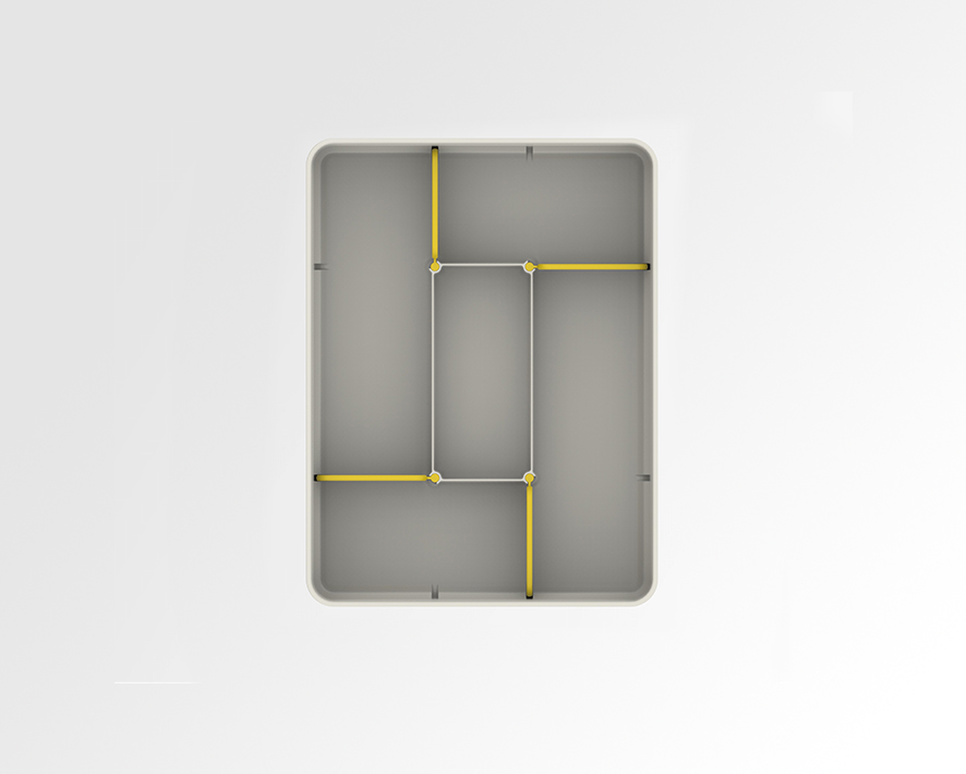 Universal Cutlery Organiser 6
