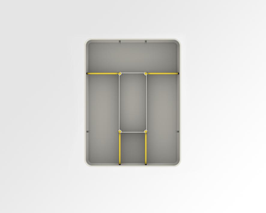 Universal Cutlery Organiser 8
