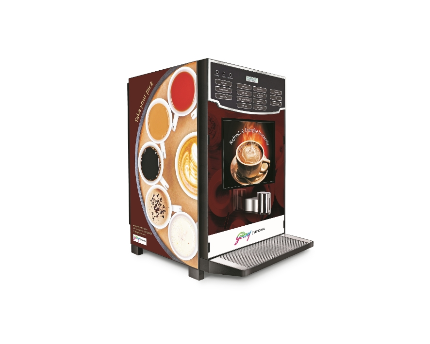 Freshly Brewed Tea & Coffee Vending Machine (IB)