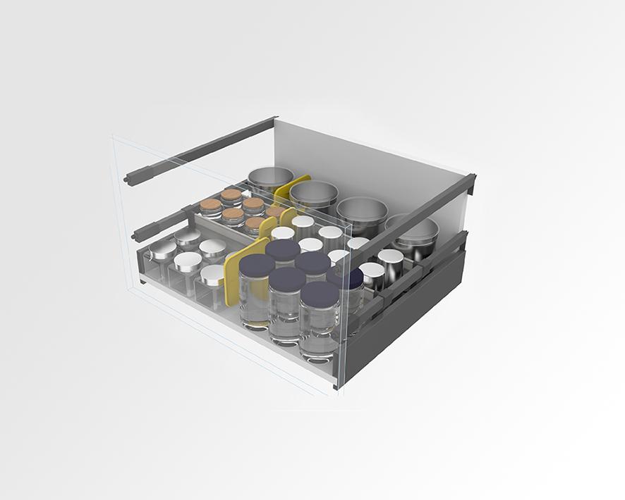Universal container organiser