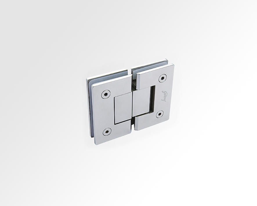 Shower Cubicle Hinge - 180 - Glass to Glass