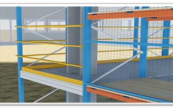 Railing and Kick Plates
