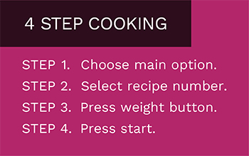4 Step Cooking
