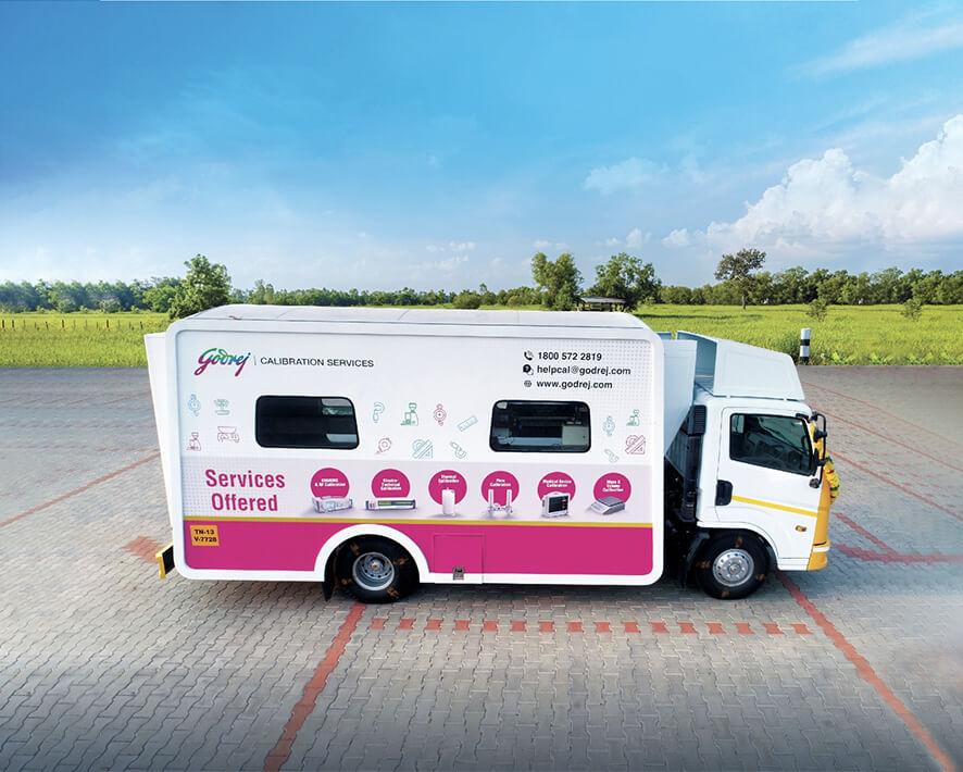 Mobile Calibration Van
